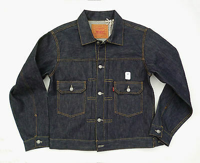 LEVIS VINTAGE 1953 Type II Selvedge Denim Jacket 507 size 40 MEDIUM