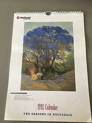 NATIONAL AUSTRALIA BANK 1993 Calendar