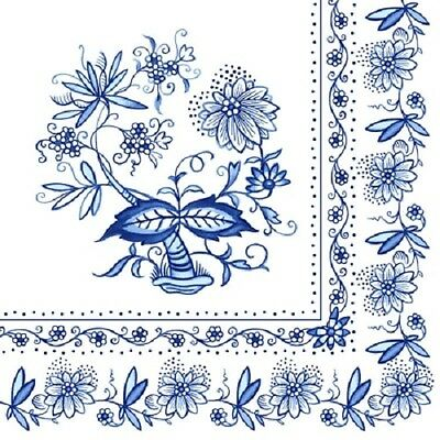 Full Pack - Napkins for Decoupage / Parties / Weddings - Blue Lace