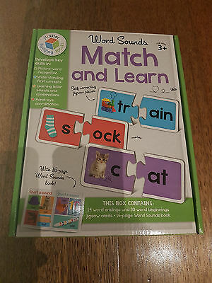 Hinkler Building Blocks Word Sounds match and Learn.