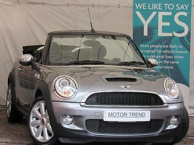 MINI Convertible 1.6 Cooper S Manual Petrol Convertible in Grey