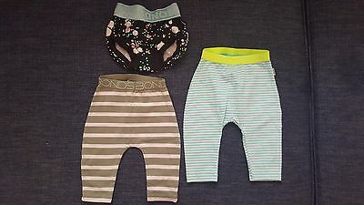 3  x bonds baby pants - like new - size 0-3 months