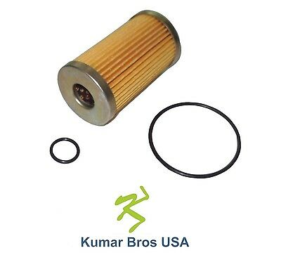 New Massey Ferguson Fuel Filter with O-Rings 1125 1140 1145 1240 1250 1260