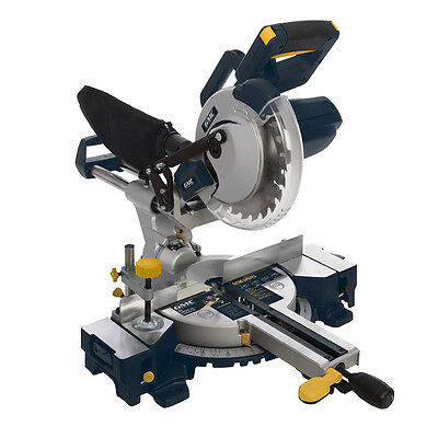 GMC 378634 1800W Double Bar Sliding Mitre Saw 210mm GM210S