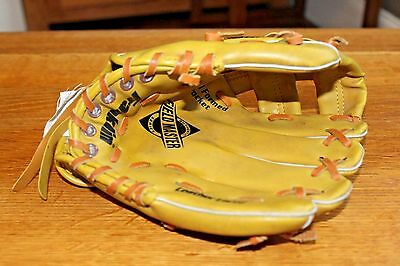 Franklin 474 Leather Laced Baseball Mitt 9 1/2 Inch field master leather laced