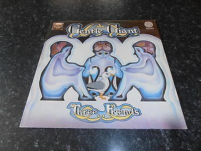 Gentle Giant Three Friends Vinyl Lp Vertigo Swirl Uk Press Ex 6360 070