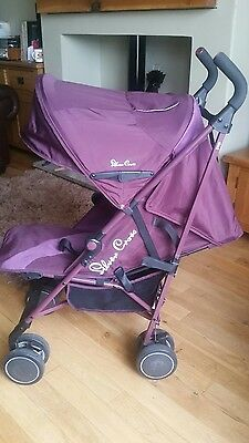 Silvercross Pop  Pushchair lightweight ideal for holidays and travelling