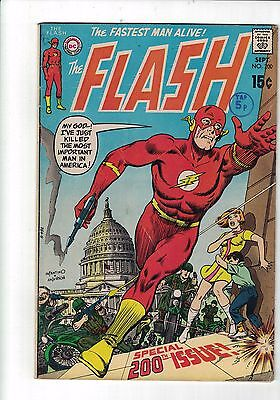 DC Comics The Flash #200 Sept 1970 special 200th issue 15c usa