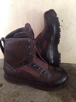 Size 10 genuine brown combat high liability haix boots! Excellent ! Hardly Worn!