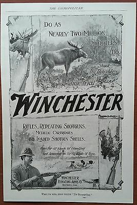 Winchester Guns              Sept. 1899 Advertisement          The Cosmopolitan