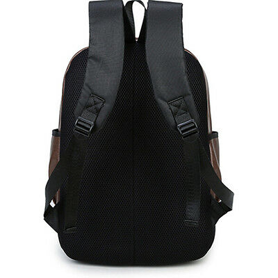 Vintage Backpack Travel Leather Handbag Rucksack Shoulder School Bag
