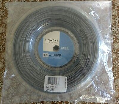 Genuine Luxilon Big Banger Alu Power 200m Reel 1.38mm