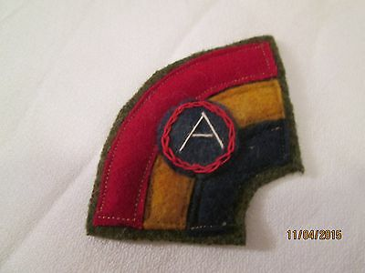 WWI US Army 42nd Division,Third Army patch AEF