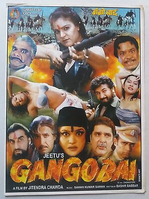 Old Bollywood Movie Press Book-Gangobai /prithvi Sathnam Kaur