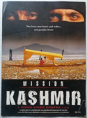 Old Bollywood Movie Press Book-Kashmir /sanjay Dutt  Preity Zinta