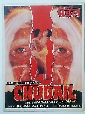 Old Bollywood Movie Press Book- Chudail / 2016