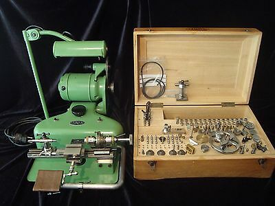 Watchmakers lathe - Boley & Leinen 8 mm
