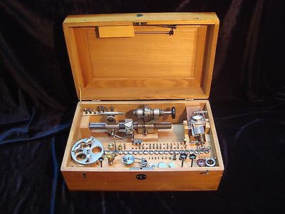 Watchmakers lathe 8 mm BOLEY