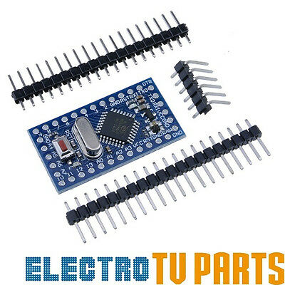 Arduino Pro Mini Atmega328P 5V 16MHz Development board with header pin UK SELLER