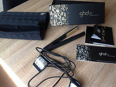 NEW withTags SET GHD IV Professional Styler & Trav Case & Heat Resistant Blanket