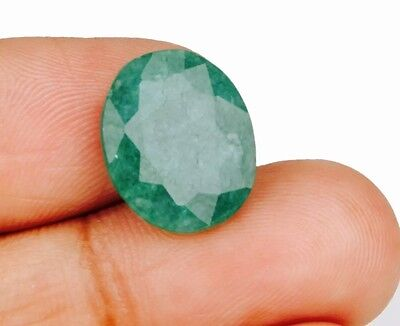 5.0 Ct Esmeralda Natural Oval Emerald Colombian Smaragd