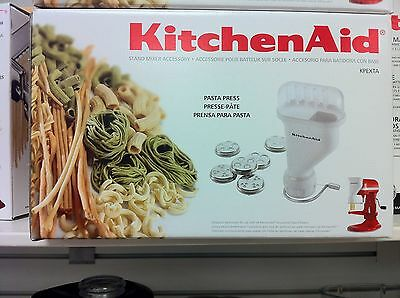KitchenAid KSMPEXTA Pasta Press Attachment with 6 Interchangeable Pasta Plates