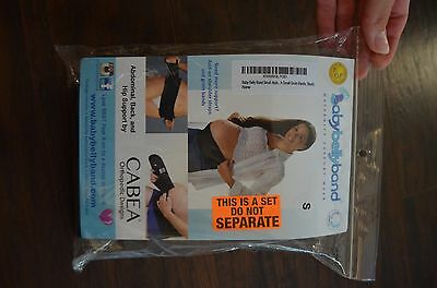BabyBellyBand Pregnancy Support Belt with Groin Straps