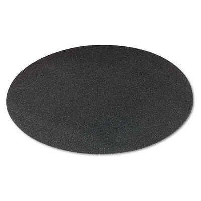 "Boardwalk Sanding Screens 20"" Diameter 120 Grit Black 10/Carton 502012010"
