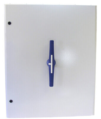 Telergon 630A 3P+N On-Off Isolator Switch In Ip65 Metal Enclosure