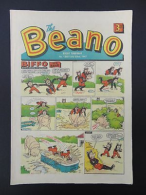 The Beano Comic No. 1305 - July 22nd 1967, 50th Birthday Present/Gift, VG+ Copy