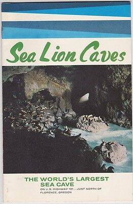 1960's Sea Lion Caves Promotional Booklet