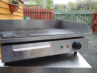 commercial hot plate in stainless steel