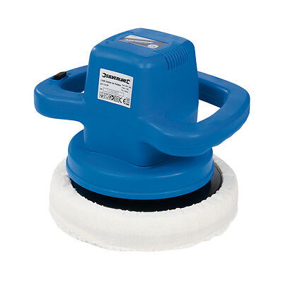 Silverline 261362 DIY 110W Orbital Car Polisher 240mm 110W