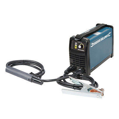 Silverline 103597 200A MMA Inverter Arc Welder Kit 200 - 200A