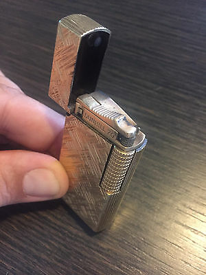 Vintage Dunhill lighter. Gold plated. Serviced and Working perfectly.