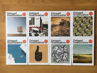 Delayed Gratification Magazine - 2015 and 2016 complete set