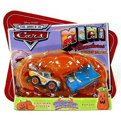 Disney CARS Mini Adventures Holiday Special Tunerz (Lightning McQueen and Ramone