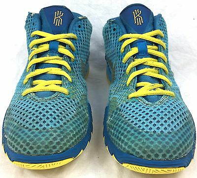 Nike Kyrie 1 GS Current Blue/Imperial Blue/ Tour Yellow Shoes Size 5y