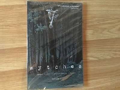 Wytches Signed Paperback Graphic Novel. Volume 1. New/unread.