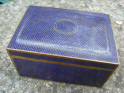 Fine Quality Antique Chinese Cloisonne Box