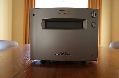 Nikon Coolscan 9000 Ed 35Mm & 120 Film Scanner - As New