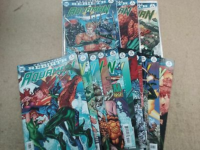 AQUAMAN REBIRTH 24 ISSUE LOT #1-24 | [NM] | First Print Justice League / Movie