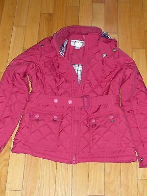 """Harry Hall """"lyndale"""" Junior Quilted Jacket 7/8 Yrs"""