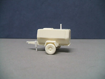 """Built Unpainted 1/87  """"ho"""" Scale Resin Ingersoll-Rand Air Compressor Trailer"""