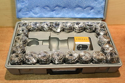 FP ER40-C-7, ER40 7-pcs COLLET SET High Quality  in plastic BOX Made in Taiwan