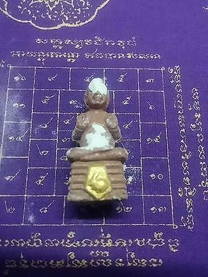 Power Mini Kumanthong LP Yam Wat Sam Ngam -For Wealthy and Lucky-Year 2557