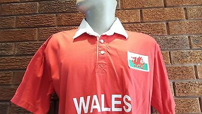 Wales rugby union shirt. World Cup 2003. Size Medium. Six nations
