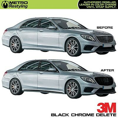 3M 1080 BLACK Vinyl for Chrome Delete Car Vehicle Decal Roll Sticker Wrap