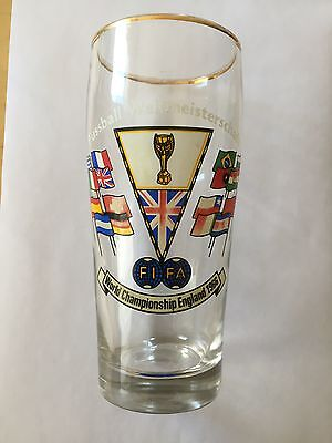 Beer Glass FIFA World Cup/Championship 1966 England-0,5l-North Korea/Spain/Italy