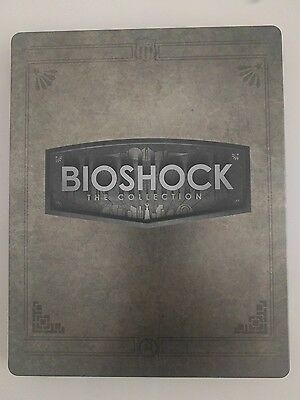 Bioshock the Collection Steelbook Case ONLY (PS3 PS4 Xbox One)